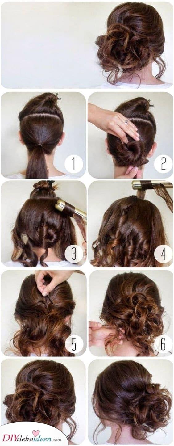 Eine brillante Hochsteckfrisur – Elegante Haarstyles