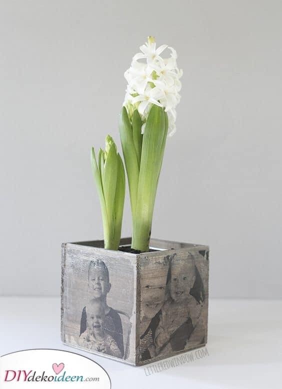 Etwas Handgemachtes – Einzigartiger Pflanzkübel für Oma