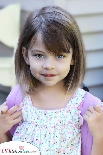 Süß und leicht zu pflegen – Mädchen Haarschnitt