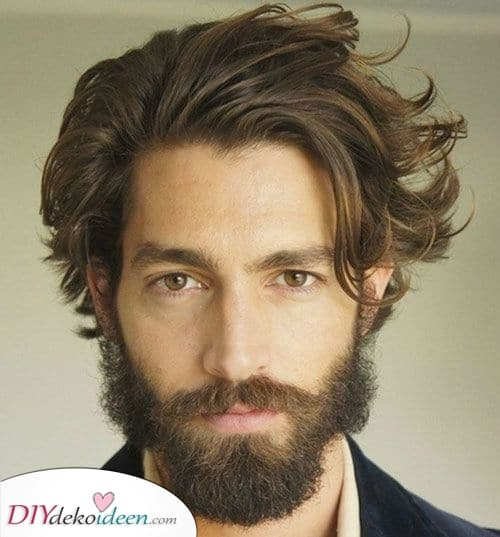 Zur Seite gefegt – Beste Frisuren für Männer