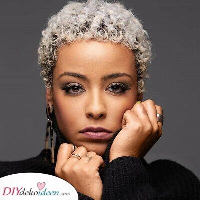 Ein kurzer Afro – Kurze Haarschnitte für Frauen