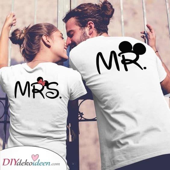 Entzückende T-Shirts – Beste Geschenkideen für Paare