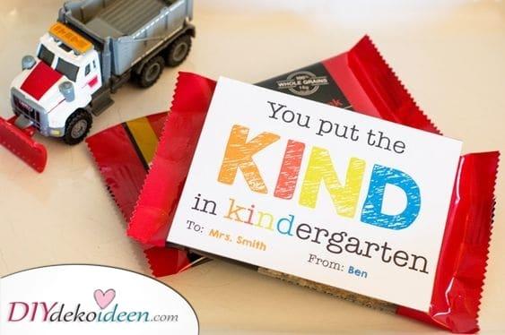 Die Art im Kindergarten – Geschenkidee für Erzieher