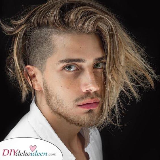 Ein einzigartiger Look – Männer Frisur für dünnes Haar