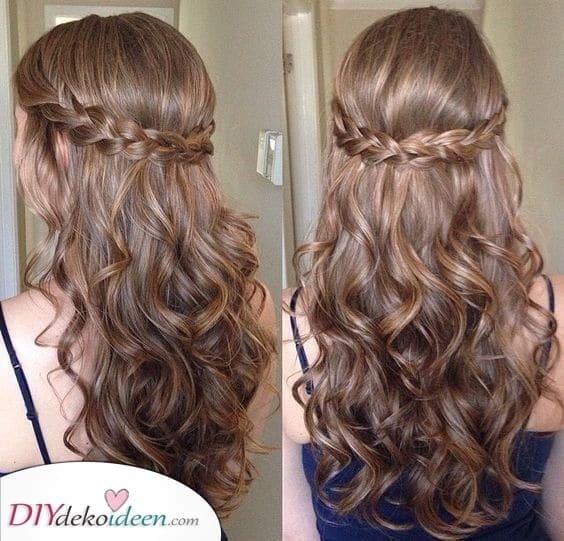 Frisuren mit Naturlocken- Raffiniert und Edel zugleich