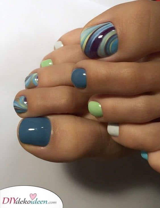 Fließende Farben – Süße Ideen
