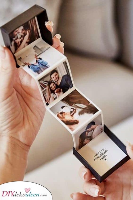 Eine Schachtel mit Fotos – Süß und atemberaubend