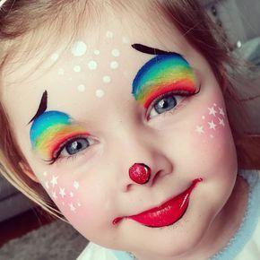 Clown schminken – Fröhliches Schminken für Partys