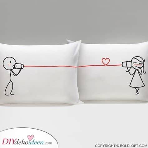 Schöne passende Kissen – Ein einzigartiges Geschenk für Paare
