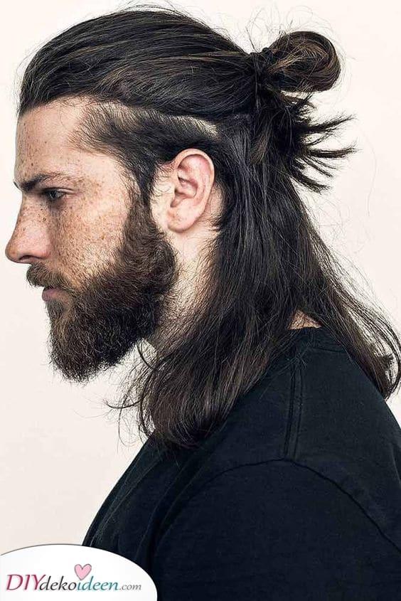 Herren Langhaarfrisuren – Frisuren für Männer mit langen Haaren