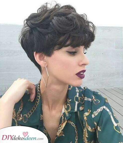 Weiche Wellen – Frisuren für kurze Haare