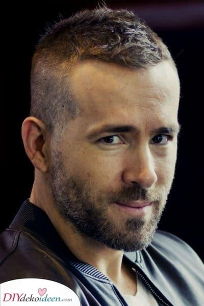 Ein kurzer Schnitt – Männer Frisur für dünnes Haar