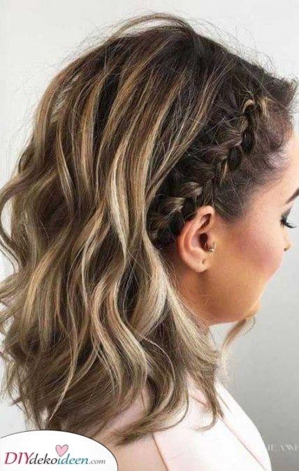 Ein schöner Pferdeschwanz – Frisuren für mittellanges Haar