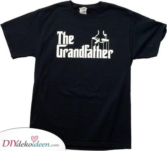Das Großvater Shirt – Geburtstagsgeschenkideen für Opa