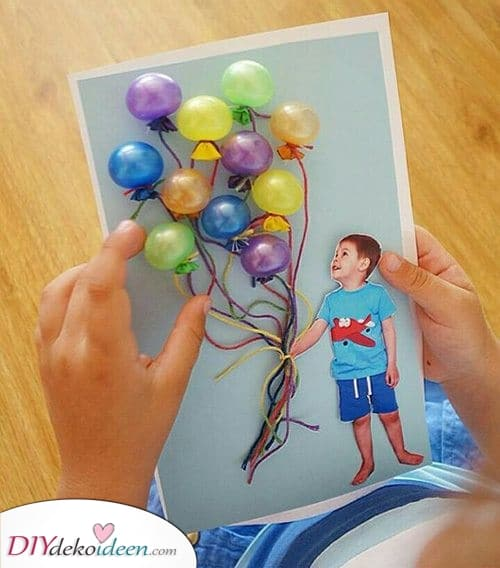 Eine Karte voller Ballons – Beste Geburtstagskarten