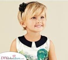 Haarschmuck ist immer gut – Haarschnitt-Ideen für kleine Mädchen