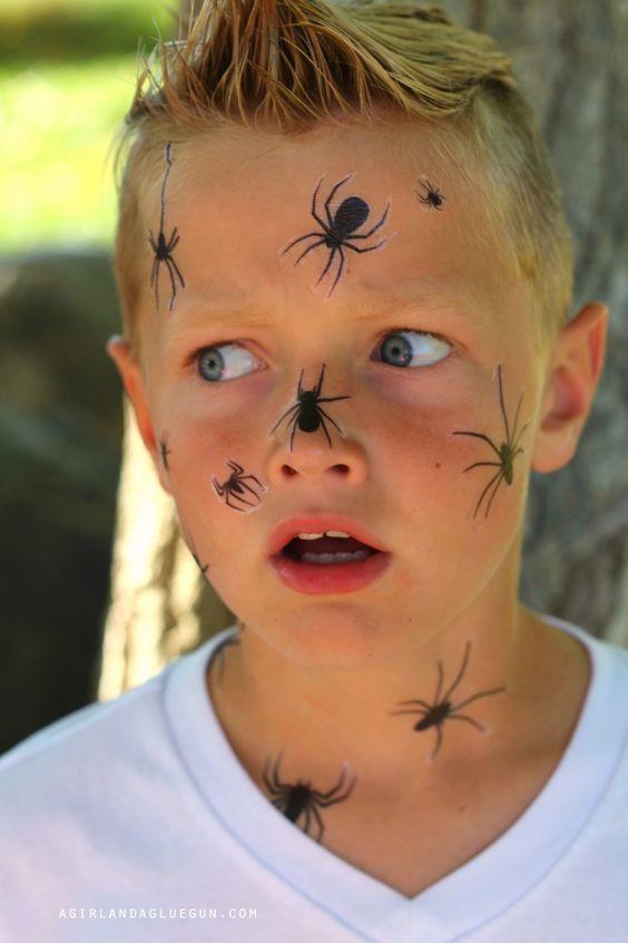 Überall Spinnen – Ein gruseliger Blick