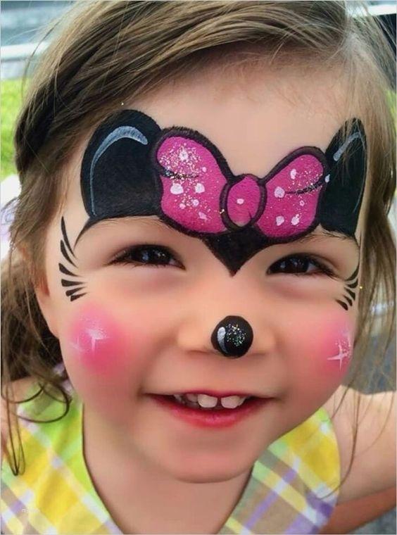 Minnie Maus – Schminken für Partys