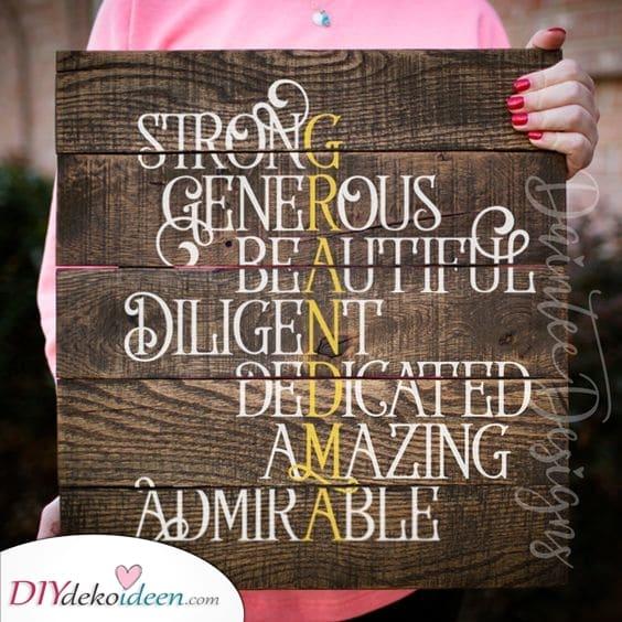 Eine Definition von Oma – Geschenkideen von Herzen