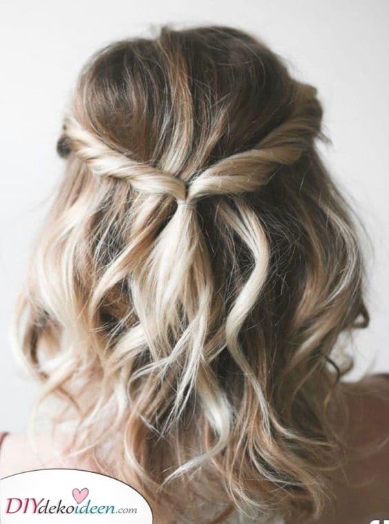 Eine elegante Wendung – Frisuren für mittellanges Haar