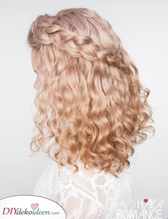 Ein romantischer Look – Kreative Frisuren