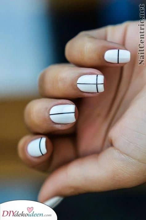 Weiße Fingernägel – Künstlerisch und aufregend