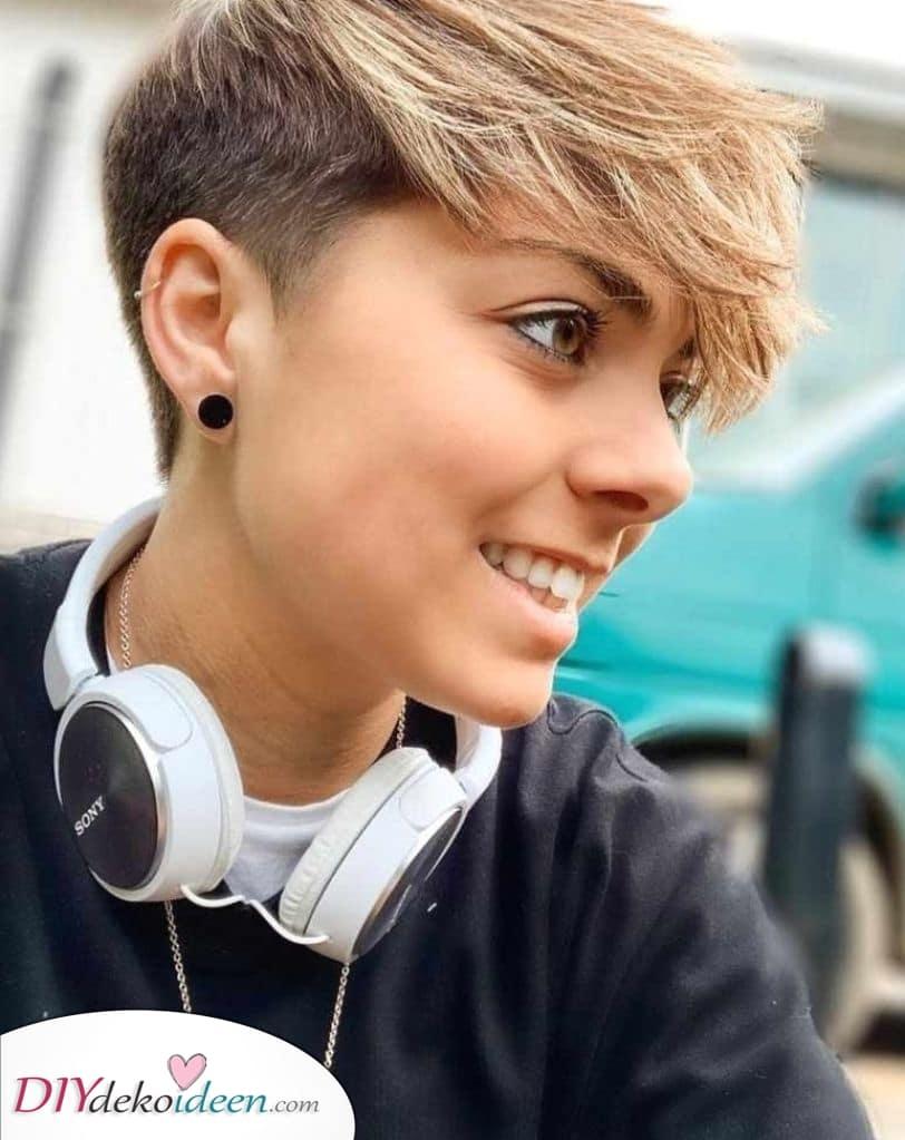 Frisuren für kurze Haare – Einfach und macht Spaß