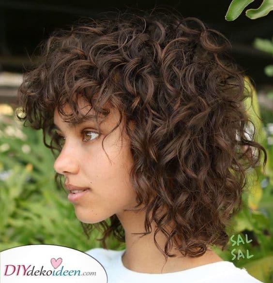 Einfache und natürliche Lockige Frisuren – Großartig für alle