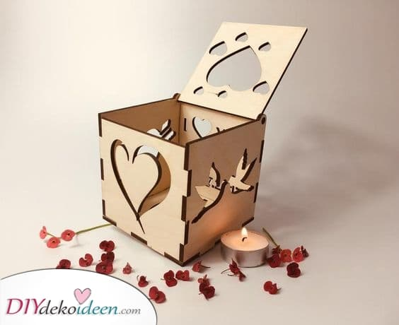Kerzenhalter gestalten – Pärchen Geschenke