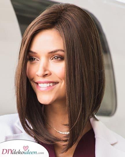Frisuren für schulterlange Haare – Schick und Elegant
