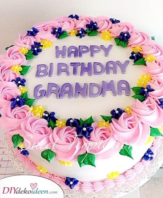 Ein leckerer Kuchen – Verwöhnen Sie Ihre Oma