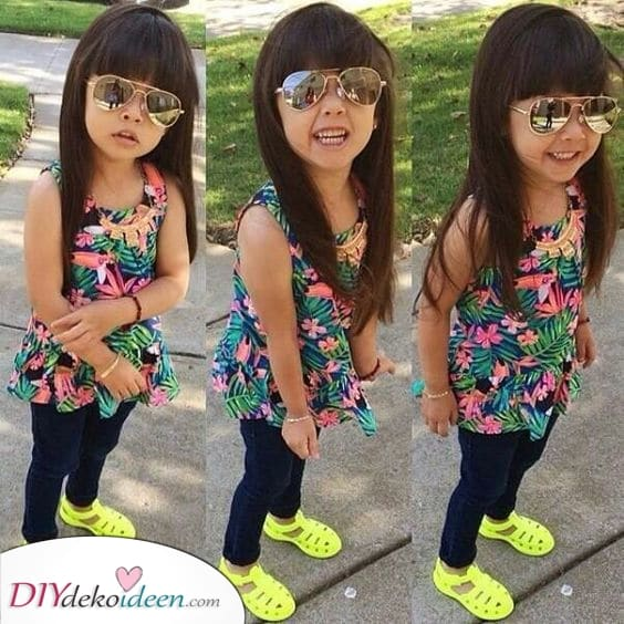 Langes Haar, egal – Fabelhafte Haarschnitt-Ideen für kleine Mädchen