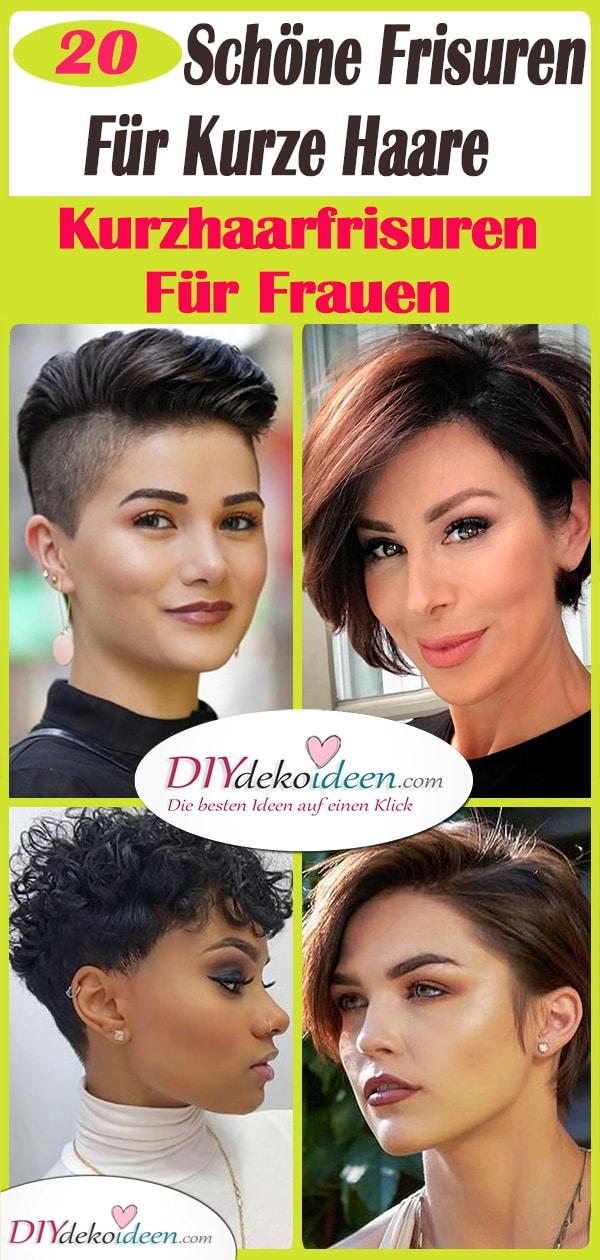 20 Schöne Frisuren Für Kurze Haare - Kurzhaarfrisuren Für Frauen
