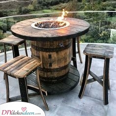 Rustikal und schön – Feuerstellen im Freien