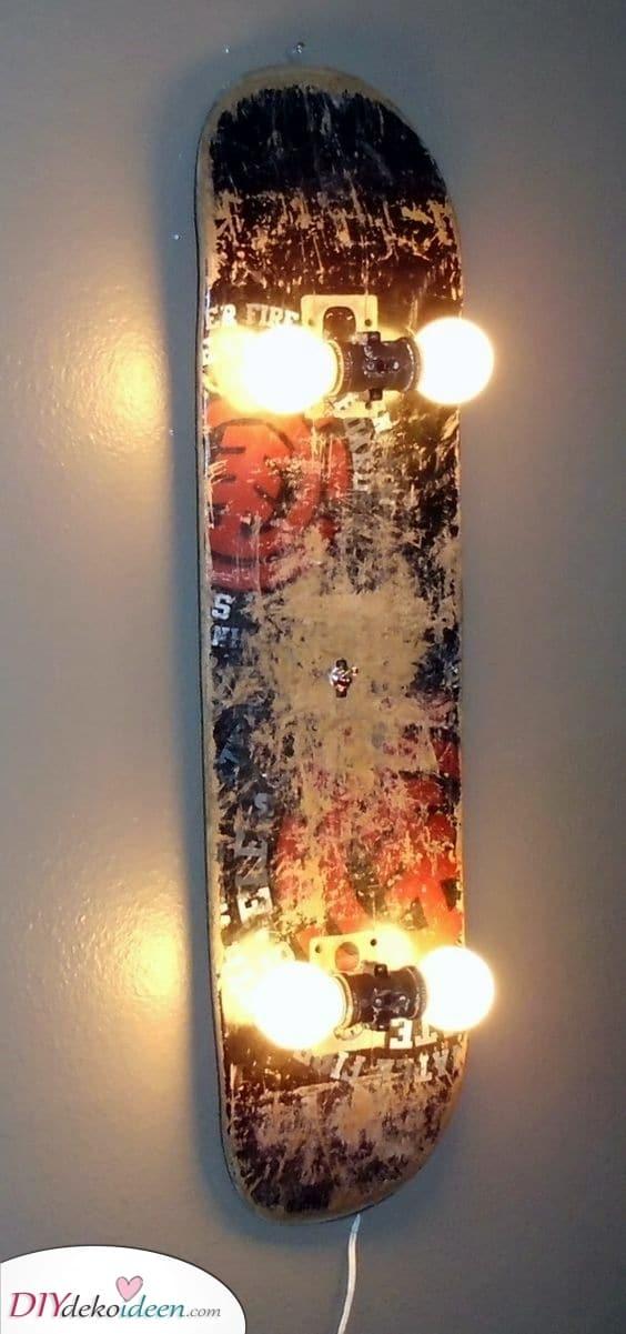 Ein cooles Skateboard – Eine coole Lampe für Sie