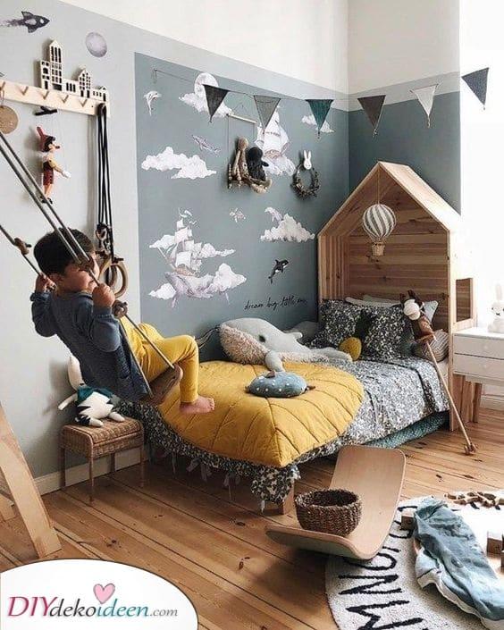Der Himmel und das Meer – Zimmer Ideen für kleine Jungs