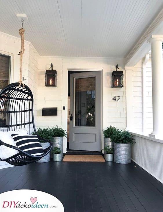 Einfacher Stil – Terrassengestaltung Ideen