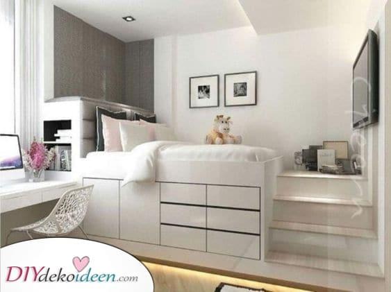 Bett oder Schrank – Raum intelligent nutzen