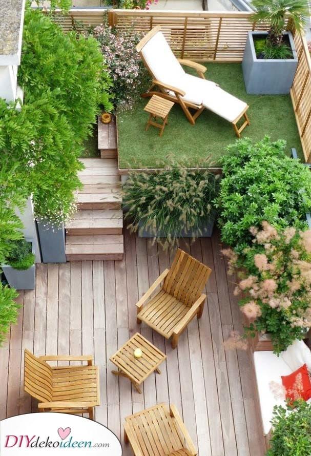 Ein entspanntes Ambiente – Gartenideen mit kleinem Budget