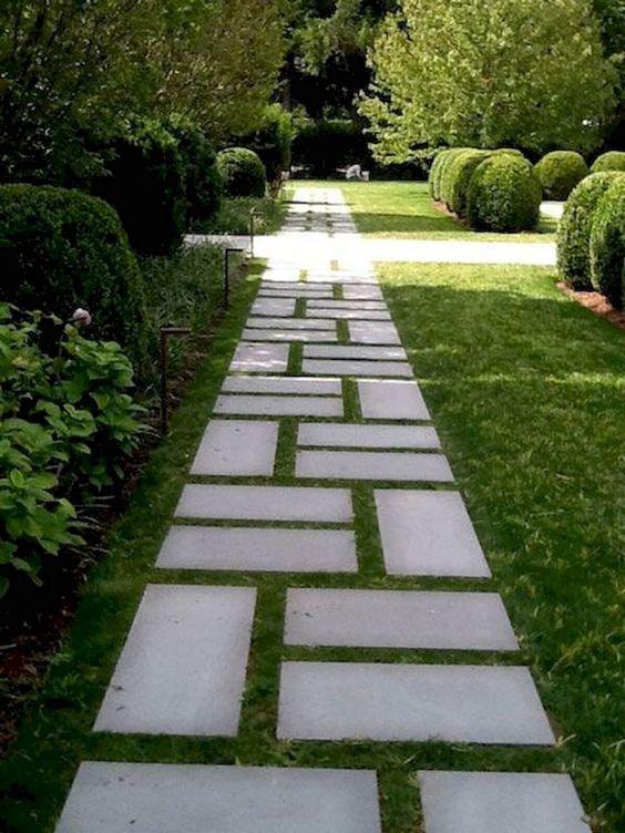 Legen Sie ein Muster an – Ideen für den Gartenweg