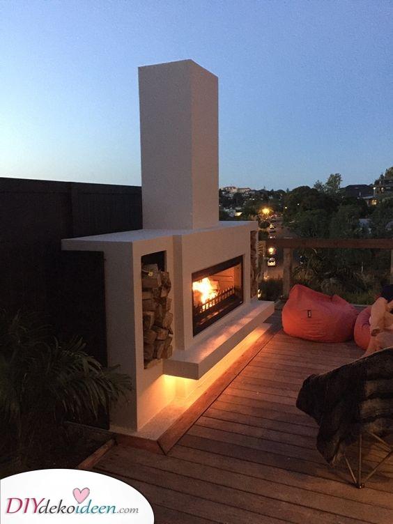 Inspirierend und wunderschön – Feuerstelle im Garten