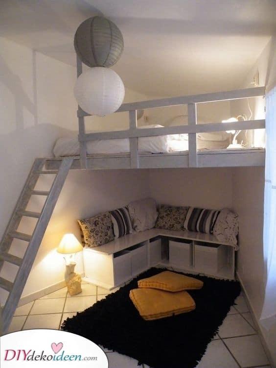 Ihr eigenes kleines Loft – Kleine Schlafzimmerdekorationsideen mit kleinem Budget