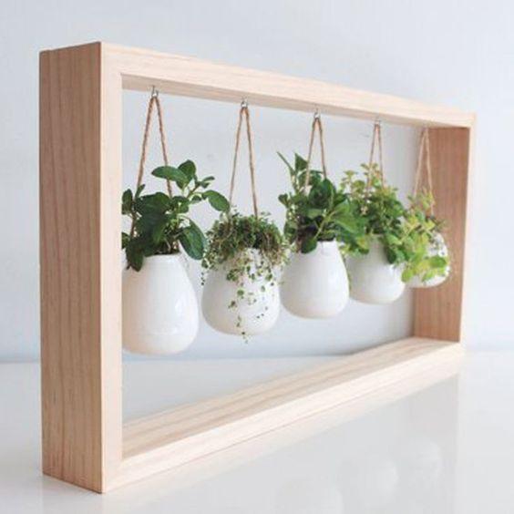 Indoor-Kräutergarten Ideen – Kräuterpflanzgefäße für die Küche