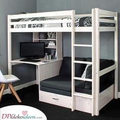 Ideen für kleine Schlafzimmer – Sparen Sie Platz und sehen Sie umwerfend aus