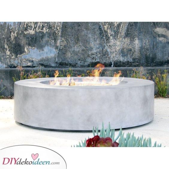Eine weitere tolle Feuerstelle – Moderne Außenkamin