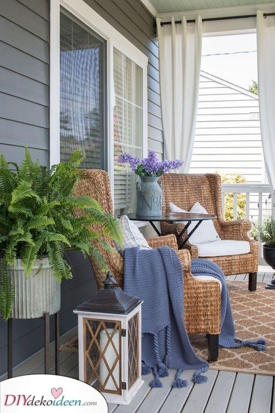 Terrassen Sichtschutz Ideen – ein Gefühl von Zuhause