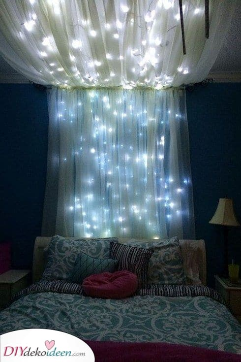 Ein wunderschöner Baldachin – Die besten Beleuchtung für das Schlafzimmer