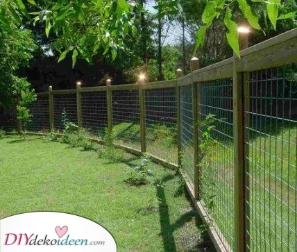 Lassen Sie die Haustiere nicht entkommen – Ideen für den Gartenzaun