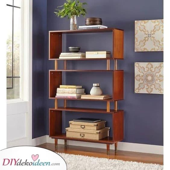 Etwas raffiniertes – Schlafzimmer Bücherregale