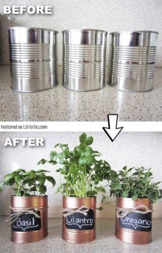 Alte Aluminiumdosen – Bereit zum Recyceln